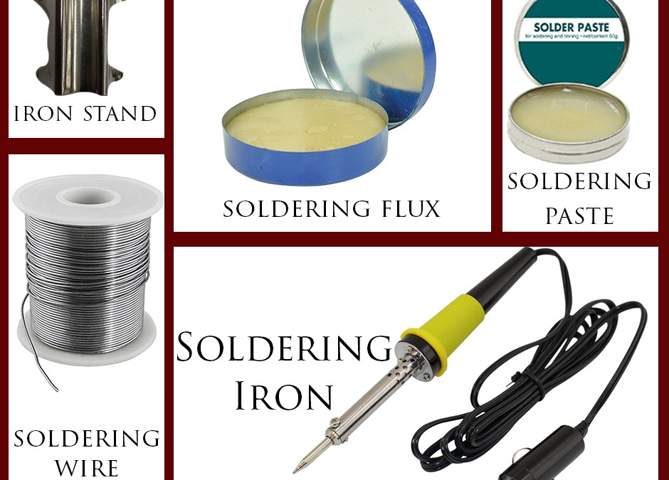 Soldering tools : The Real Action Masters